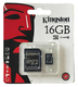 Карта памяти microSDHC Kingston 16 GB (class 10)