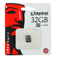 Карта памяти microSDHC Kingston 32 GB (class 10, без адаптера)